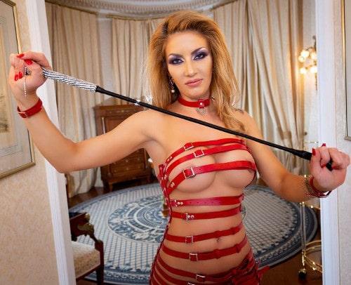 hot ts humiliation mistress posing nearly naked